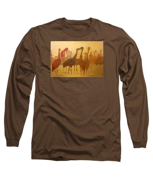 Shapes Just Shapes Formas Nada Mas Long Sleeve T-Shirt