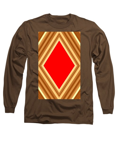 Long Sleeve T-Shirt featuring the digital art She Said Love Was Red  by Cletis Stump
