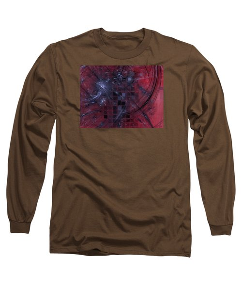 Long Sleeve T-Shirt featuring the digital art She Wants To Be Alone by Jeff Iverson