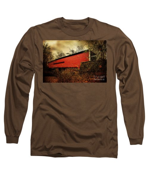 Sheeder Hall Covered Bridge 2 Long Sleeve T-Shirt