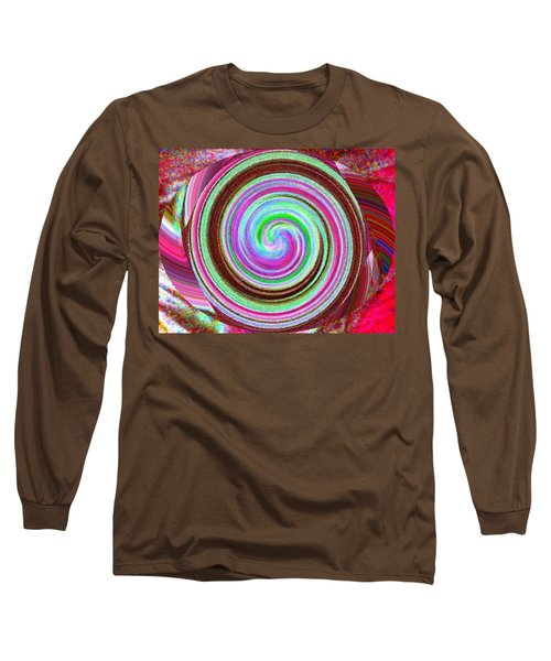 Long Sleeve T-Shirt featuring the digital art Shell Shocked by Catherine Lott