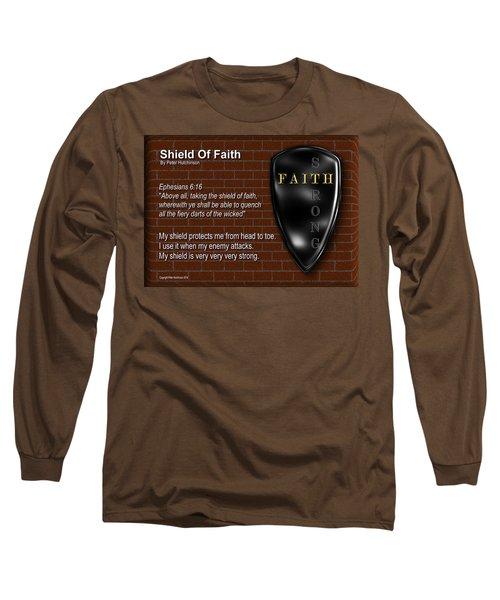Shield Of Faith Long Sleeve T-Shirt