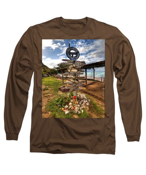 Shipwreck Beach Long Sleeve T-Shirt