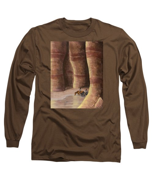 Signs Of The Past Long Sleeve T-Shirt by Jack Malloch