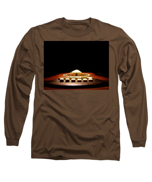 Long Sleeve T-Shirt featuring the photograph Silent Guitar by Greg Simmons