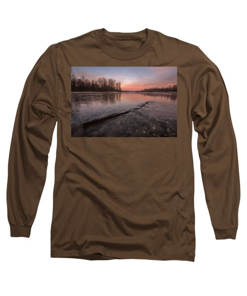 Long Sleeve T-Shirt featuring the photograph Silent River by Davorin Mance
