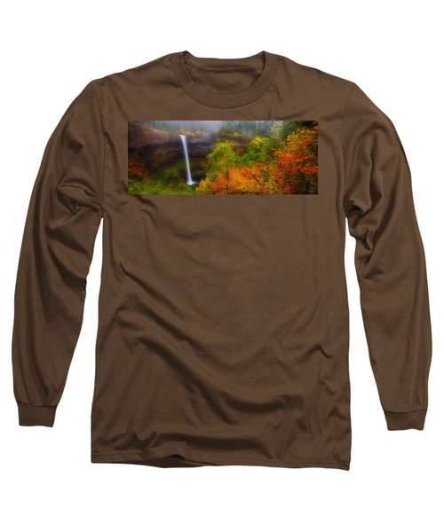 Silver Falls Pano Long Sleeve T-Shirt