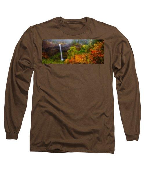 Silver Falls Pano Long Sleeve T-Shirt