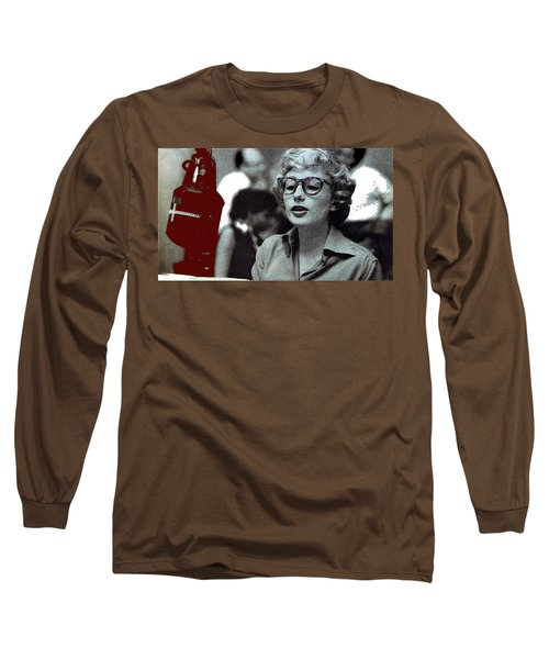 Singer Pianist Blossom Dearie  No Known Date Long Sleeve T-Shirt