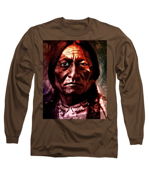 Sitting Bull - Warrior - Medicine Man Long Sleeve T-Shirt