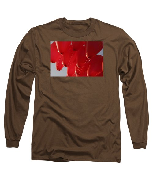 Long Sleeve T-Shirt featuring the photograph Skc 0029 Unity In Flying by Sunil Kapadia