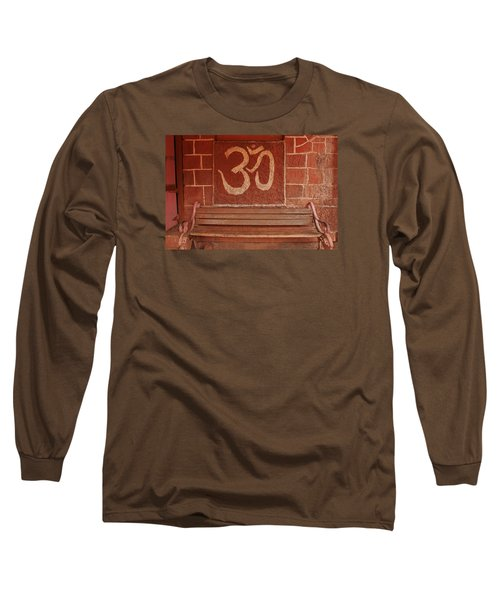 Long Sleeve T-Shirt featuring the photograph Skc 0316 Welcome The Gods by Sunil Kapadia