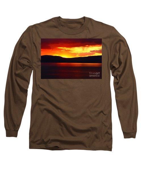 Sky Of Fire Long Sleeve T-Shirt