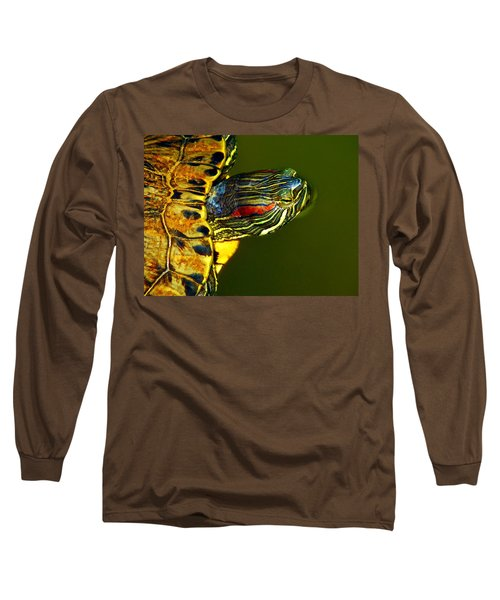 Slider Long Sleeve T-Shirt by Robert Geary
