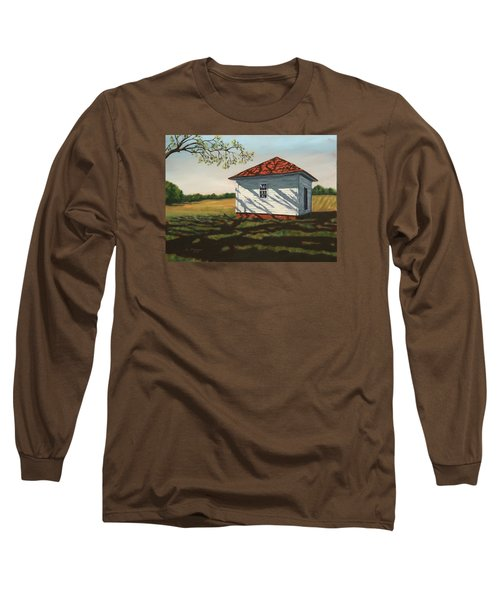 Smokehouse Long Sleeve T-Shirt by Alan Mager
