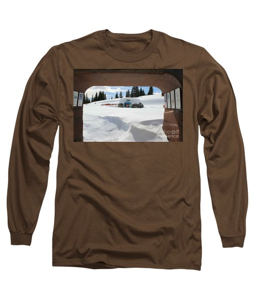 Snow Daze Long Sleeve T-Shirt by Fiona Kennard