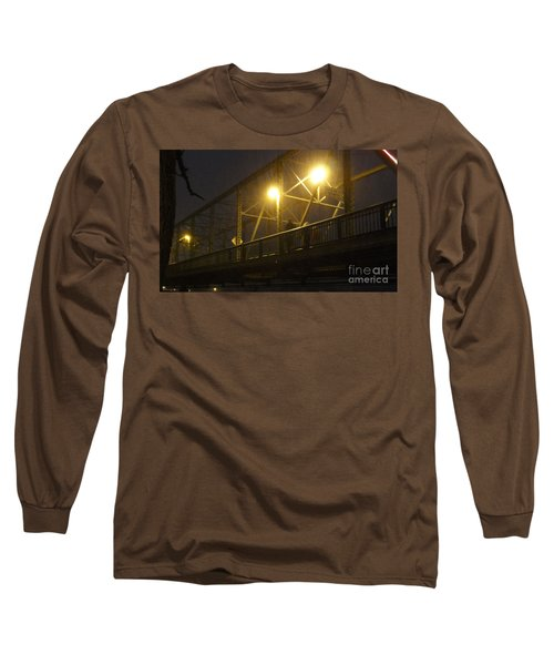 Snow In Lambertville Long Sleeve T-Shirt