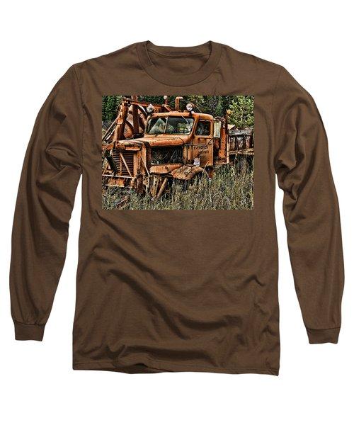 Snow Plow Long Sleeve T-Shirt