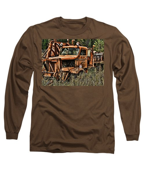 Snow Plow Long Sleeve T-Shirt