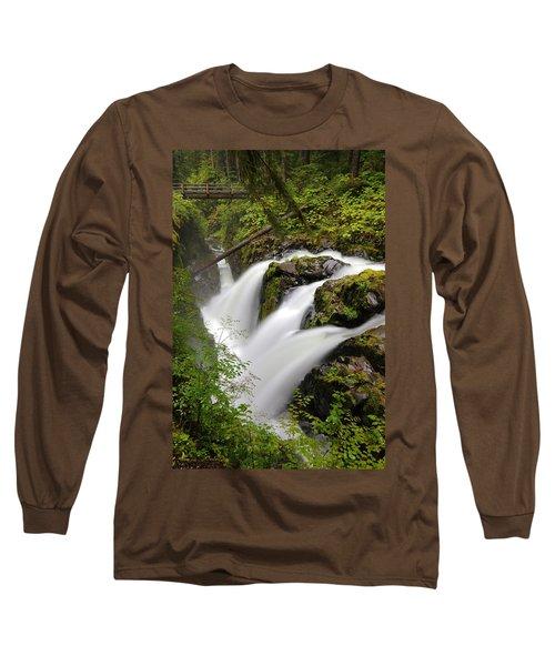 Sol Duc Falls Long Sleeve T-Shirt