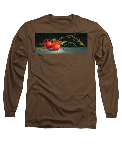 Solitary Apples Long Sleeve T-Shirt