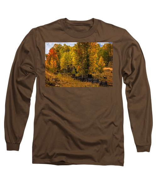 Long Sleeve T-Shirt featuring the photograph Solitude by Ken Smith