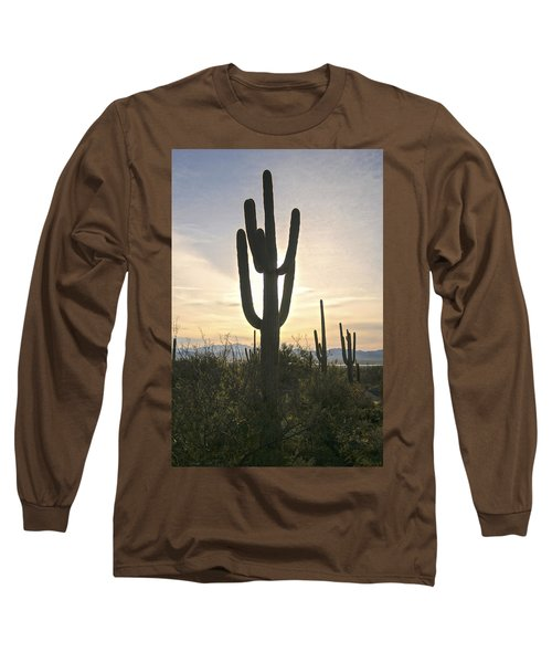 Sonoran Desert View Long Sleeve T-Shirt