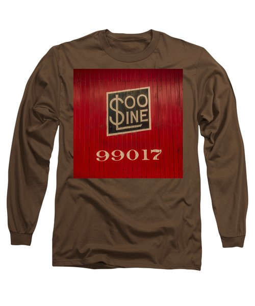 Soo Line Box Car Long Sleeve T-Shirt