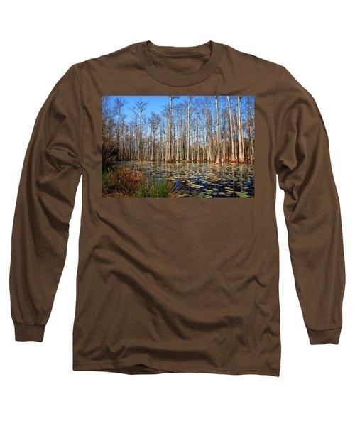 South Carolina Swamps Long Sleeve T-Shirt