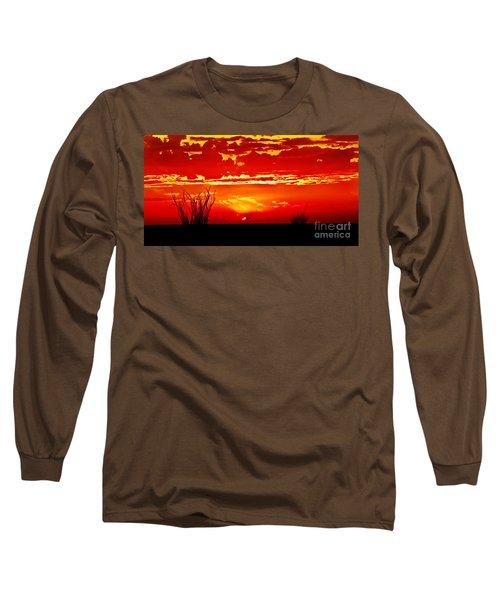 Southwest Sunset Long Sleeve T-Shirt