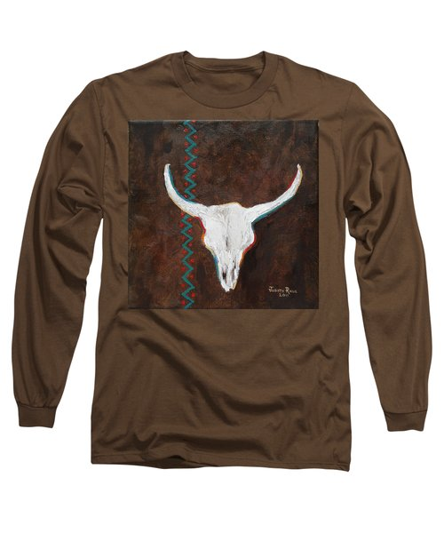Long Sleeve T-Shirt featuring the painting Southwestern Influence by Judith Rhue