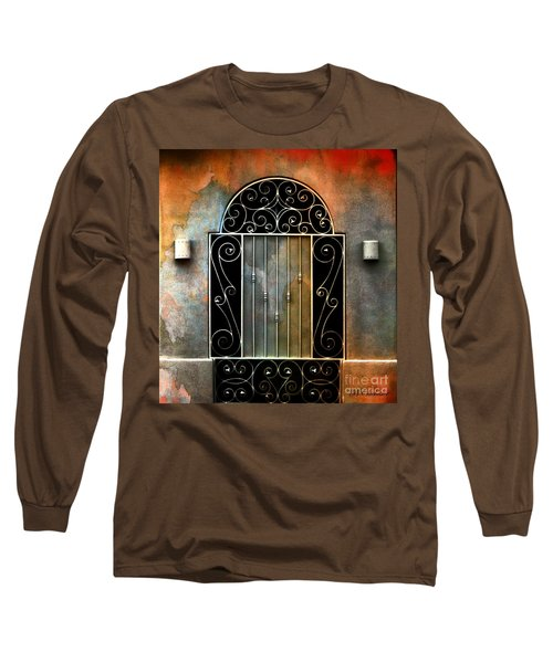 Long Sleeve T-Shirt featuring the photograph Spanish Influence by Barbara Chichester