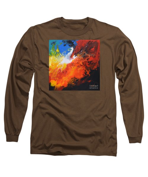 Spark Of Life Canvas Three Long Sleeve T-Shirt