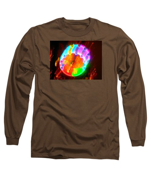 Spinning Orb In The Cosmos Long Sleeve T-Shirt