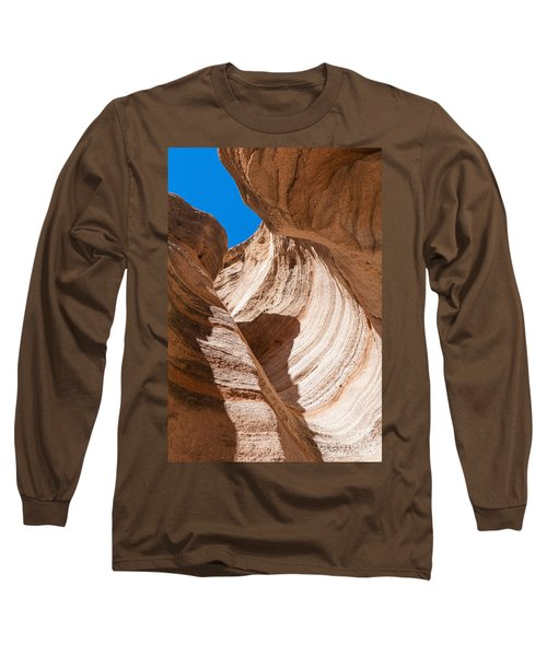 Long Sleeve T-Shirt featuring the photograph Spiral At Tent Rocks by Roselynne Broussard