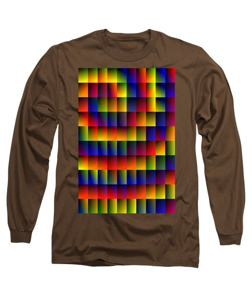 Spiral Boxes Long Sleeve T-Shirt