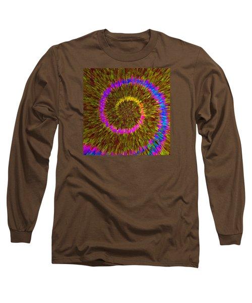 Spiral Rainbow IIi C2014 Long Sleeve T-Shirt by Paul Ashby