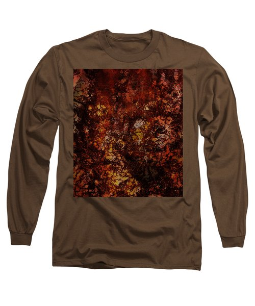 Splattered  Long Sleeve T-Shirt