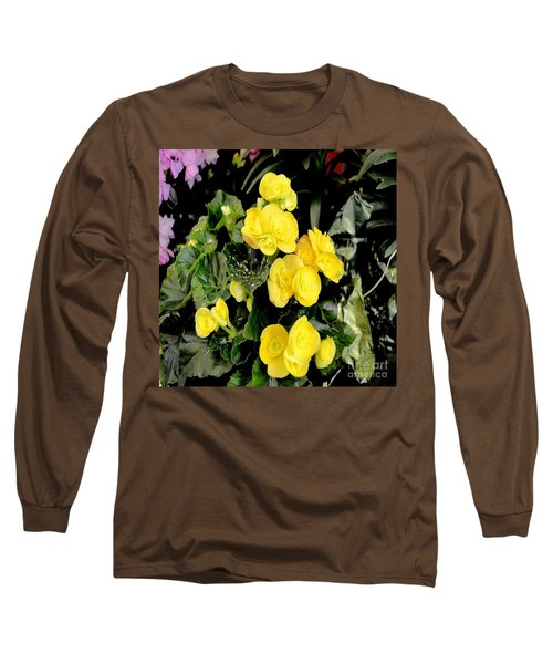 Long Sleeve T-Shirt featuring the photograph Spring Delight In Yellow by Luther Fine Art
