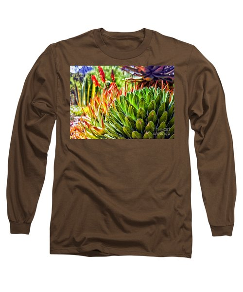 Spring Desert In Bloom Long Sleeve T-Shirt
