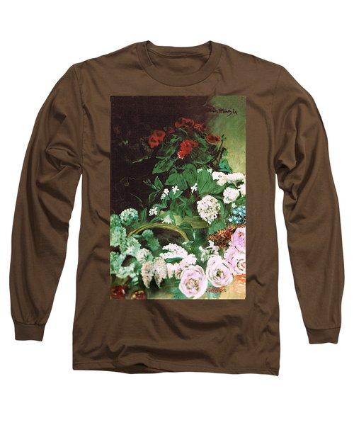 Spring Flowers Study Of Monet Long Sleeve T-Shirt