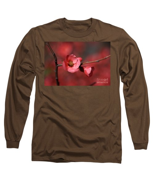 Spring Richness - Flowering Quince Long Sleeve T-Shirt