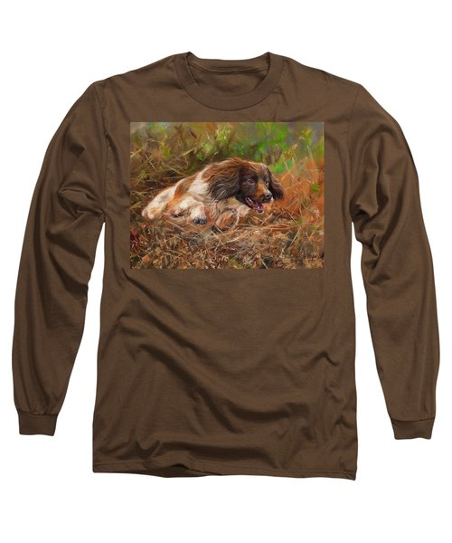 Springer Spaniel 2 Long Sleeve T-Shirt