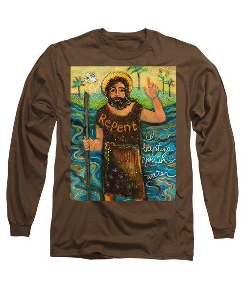St. John The Baptist Long Sleeve T-Shirt