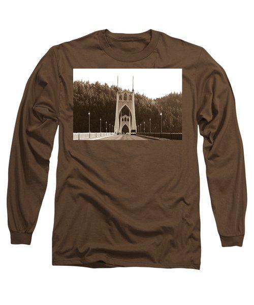 St. John's Bridge Long Sleeve T-Shirt