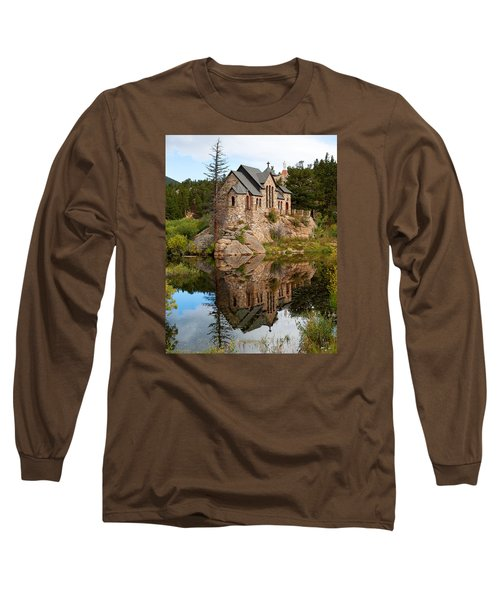 Long Sleeve T-Shirt featuring the photograph St. Malo by Jim Garrison
