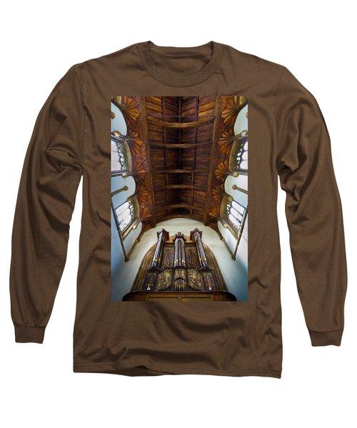 St Michael's Church Framlingham Long Sleeve T-Shirt