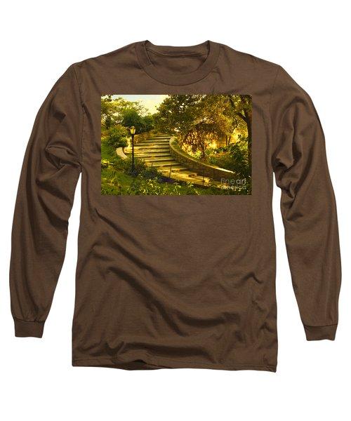 Stairway To Nirvana Long Sleeve T-Shirt by Madeline Ellis