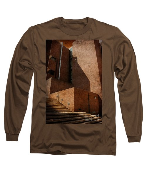 Stairway To Nowhere Long Sleeve T-Shirt by Lois Bryan