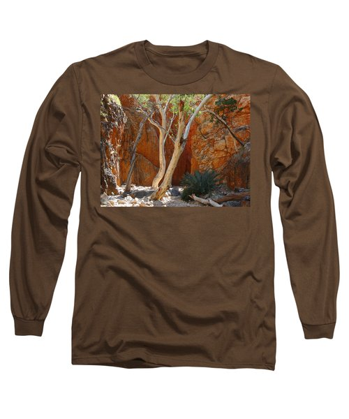 Standley Chasm Long Sleeve T-Shirt by Evelyn Tambour